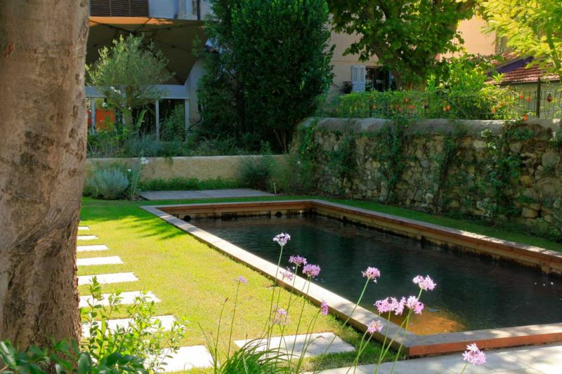 Piscine naturelle et durable